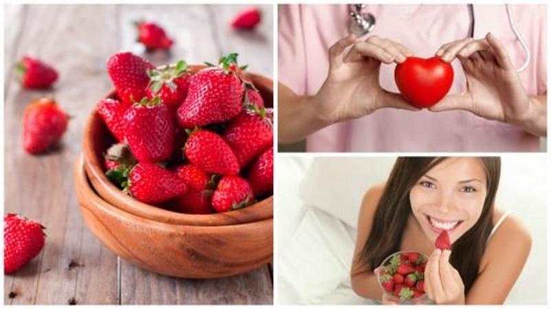 les meilleurs bienfaits des fraises pour votre corps newsmag. Black Bedroom Furniture Sets. Home Design Ideas