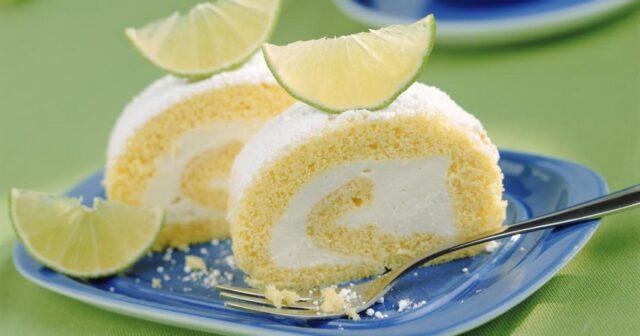 Recette Gâteau roulé au citron