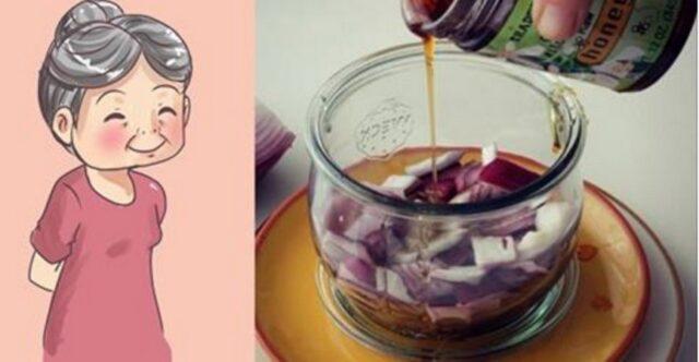 L'oignon: meilleur remède naturel de grand-mère pour arrêter de tousser !