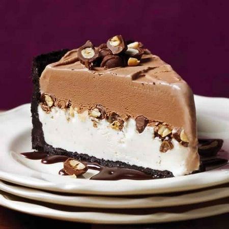 Recette gâteau glacé au chocolat et vanille au Thermomix